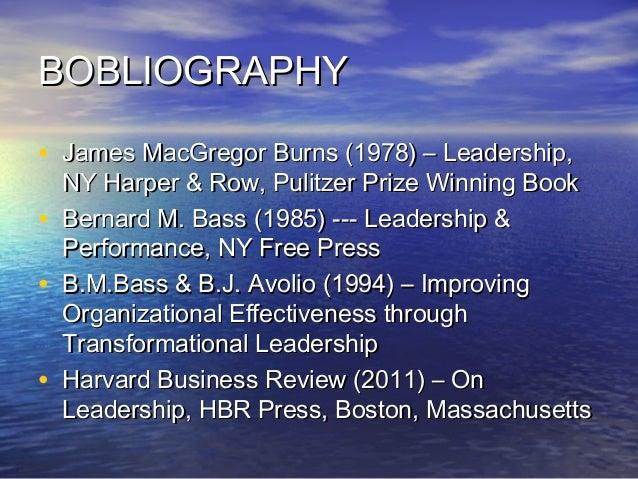 transformational leadership harvard business review