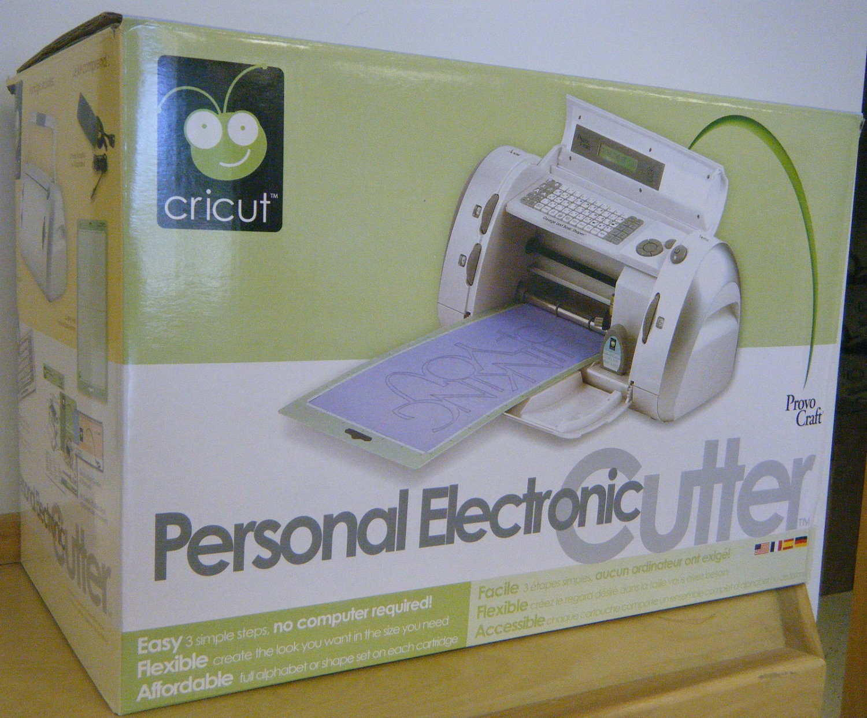 cricut personal electronic cutter reviews