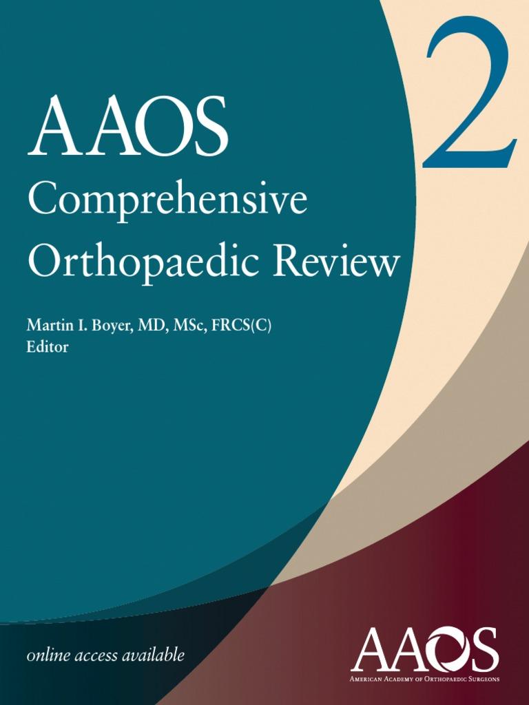 aaos comprehensive orthopaedic review pdf