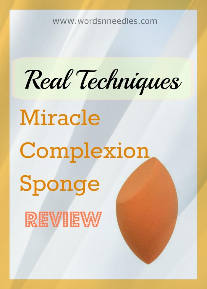 real techniques complexion sponge review