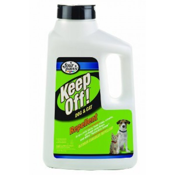 four paws keep off outdoor dog & cat repellent reviews