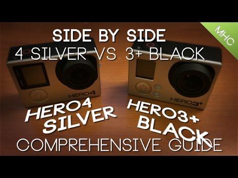gopro hero 3 review silver vs black