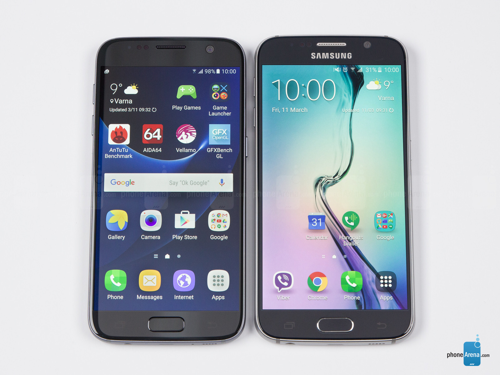 galaxy s6 vs s7 review