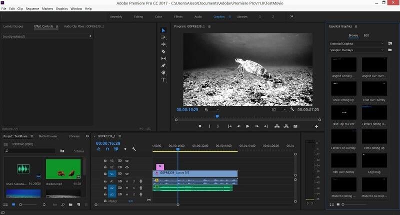 adobe premiere pro review 2017