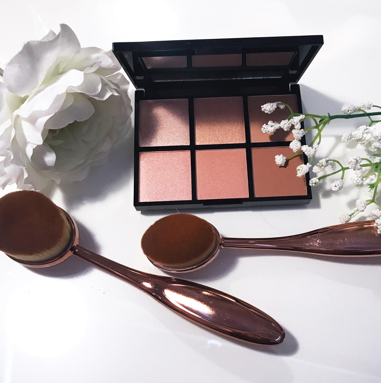 mua luxe radiance illuminating highlight kit review
