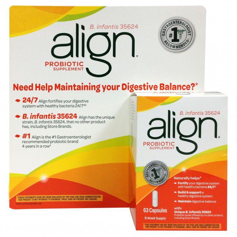 align probiotic reviews for diarrhea