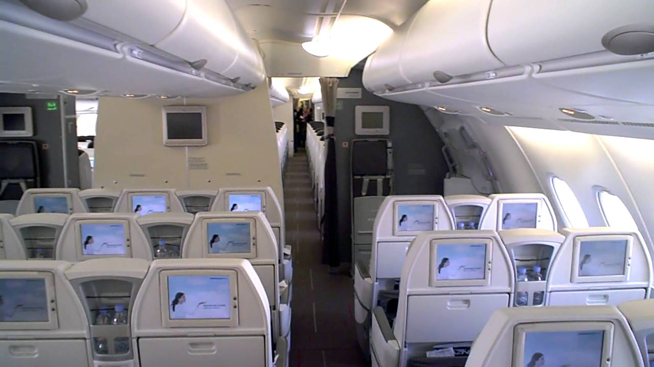 air france a380 800 business class review
