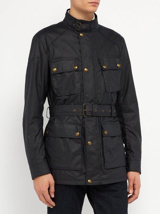 belstaff waxed cotton jacket review