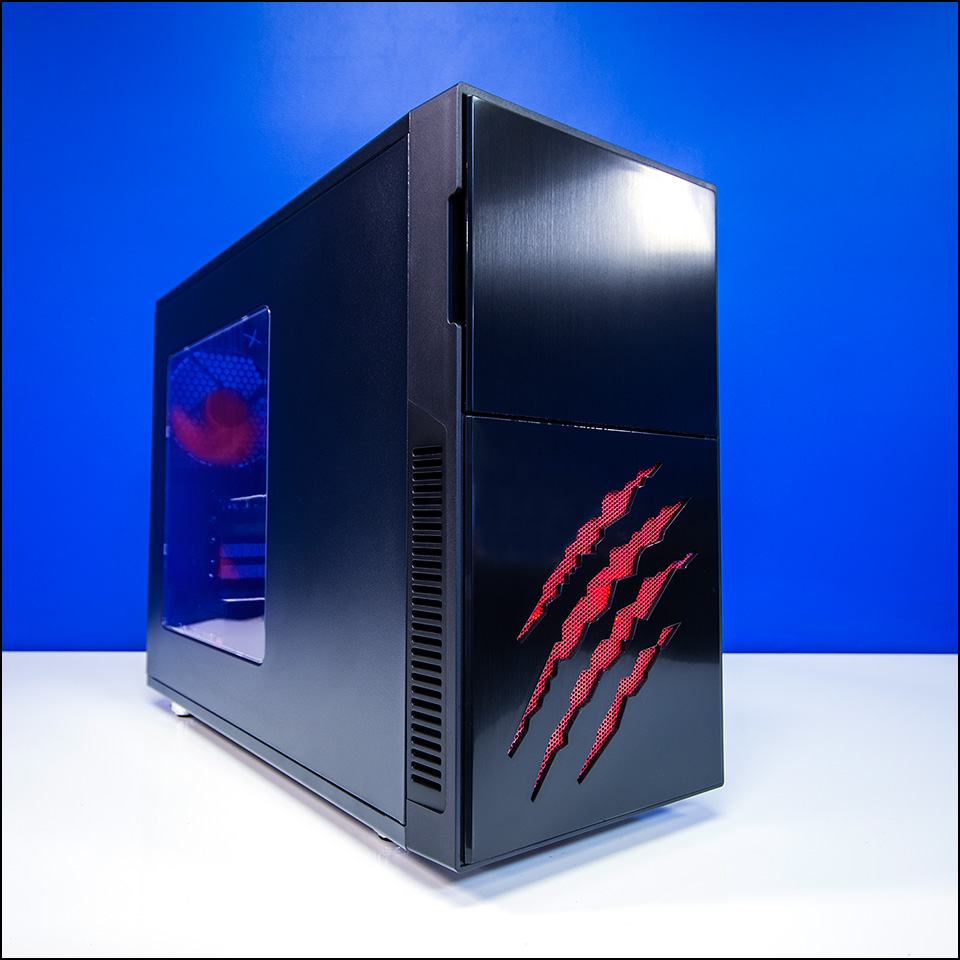 pccg bloodclaw 950 gaming system review