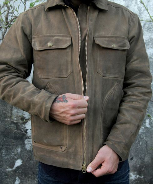 flint and tinder moleskin shirt jacket review