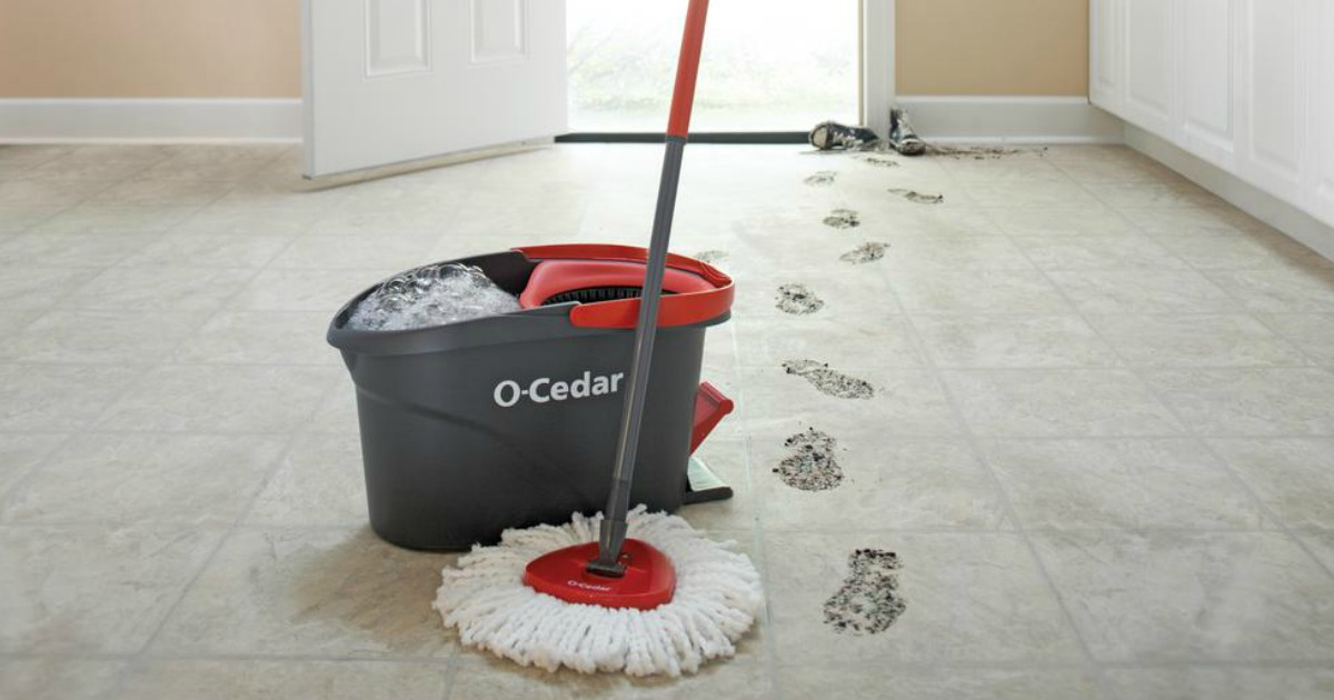o cedar easy wring spin mop and bucket system reviews