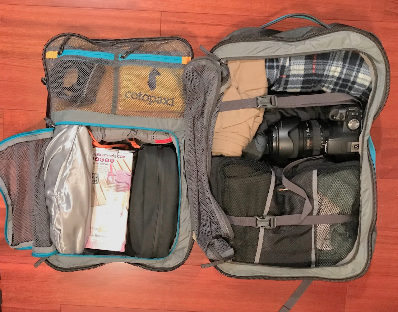 allpa 35l travel pack review
