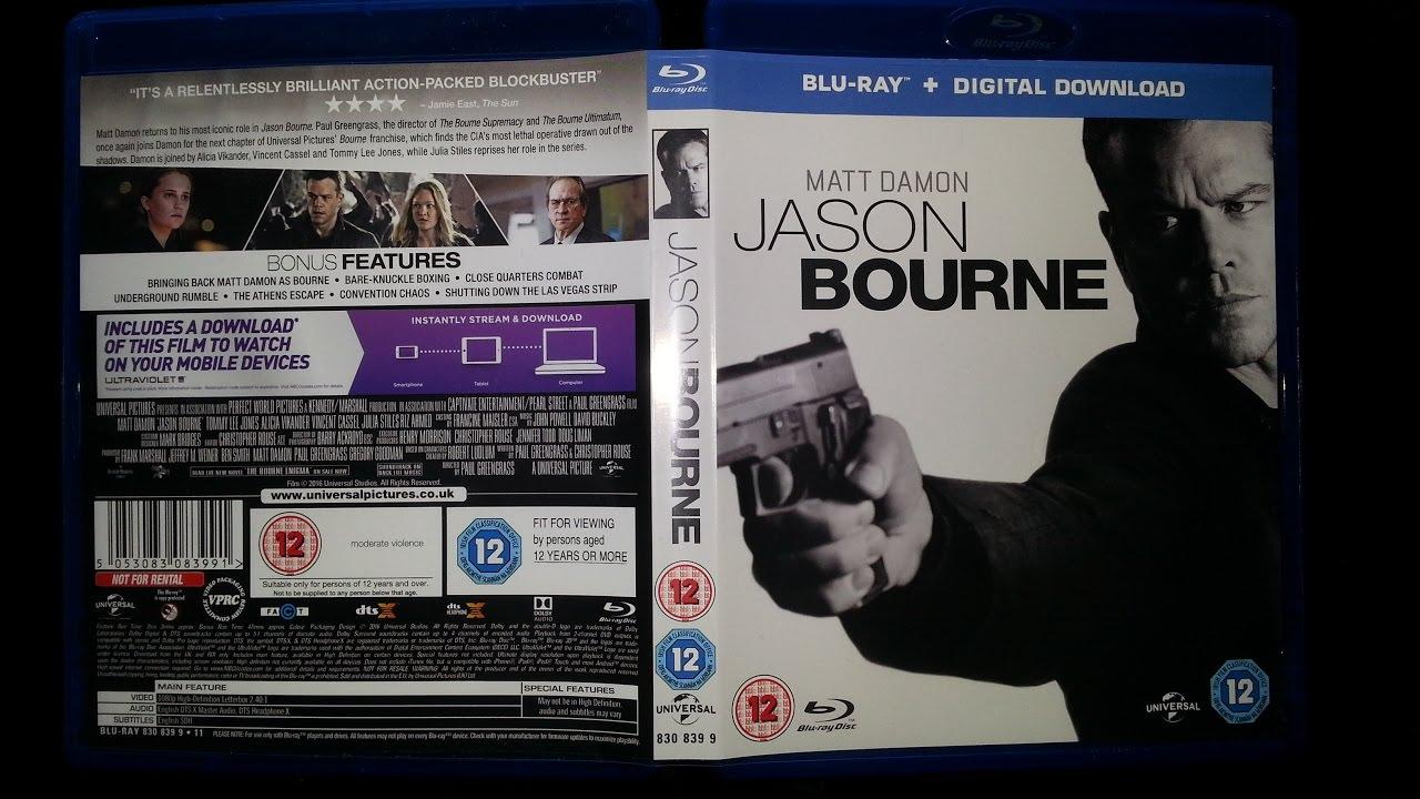 jason bourne blu ray review