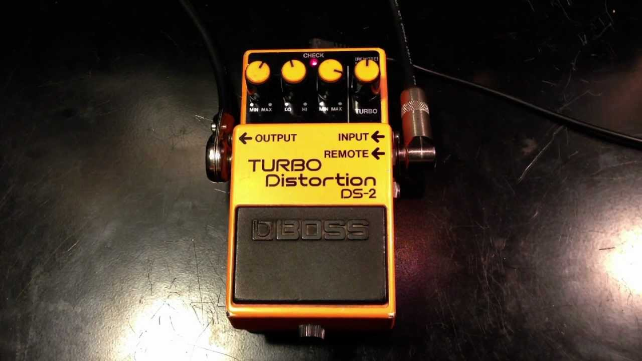 boss ds2 turbo distortion review