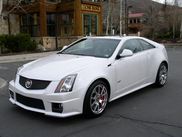cadillac cts v coupe review