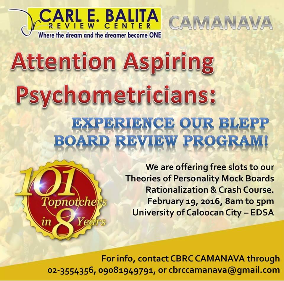 carl balita review center manila