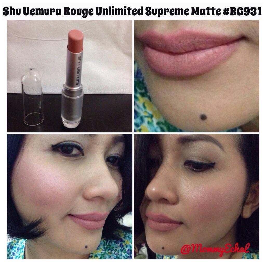 shu uemura rouge unlimited supreme matte review