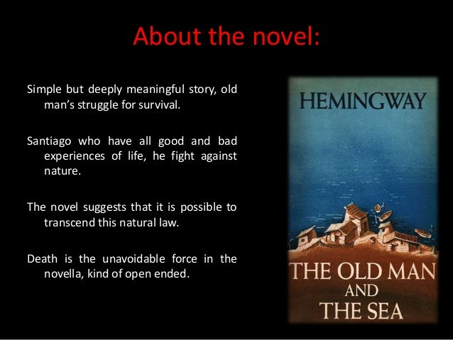review of the novel the old man and the sea