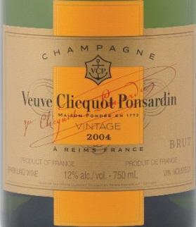 veuve clicquot ponsardin vintage 2004 review