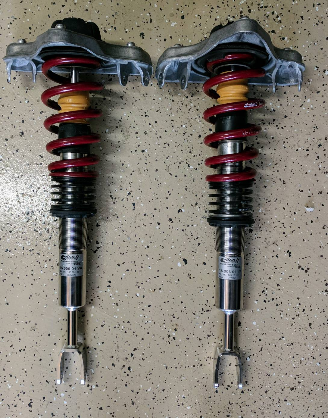 eibach pro street s coilovers review