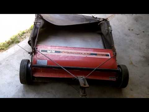 agri fab 52 lawn sweeper reviews