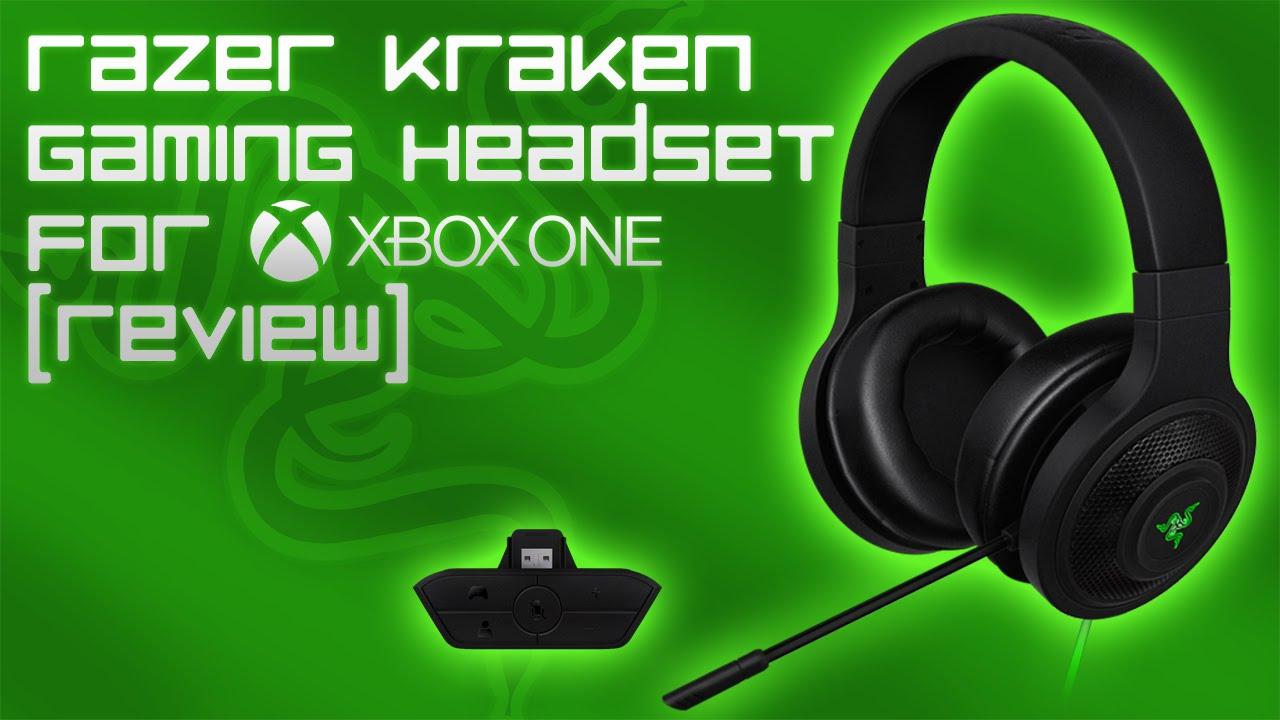 razer kraken gaming headset for xbox one review