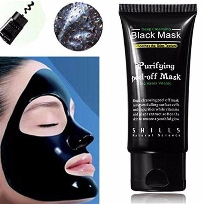 black mask purifying peel off mask review