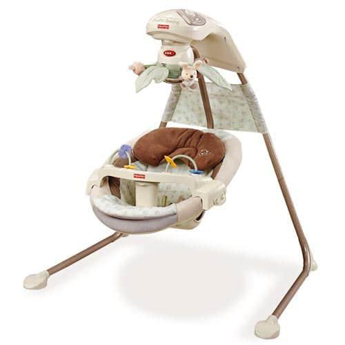 fisher price papasan cradle swing reviews