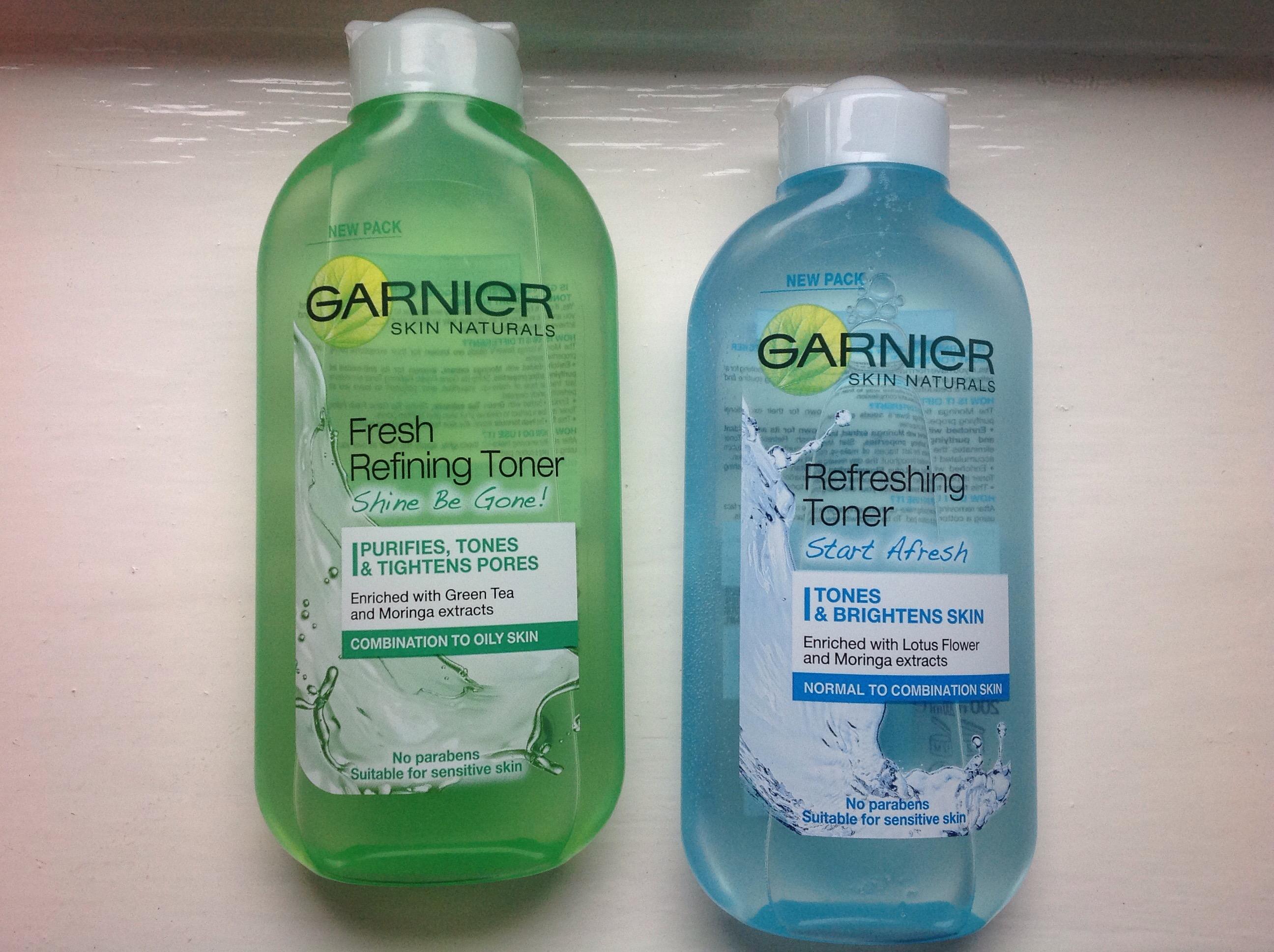 garnier shine be gone toner review