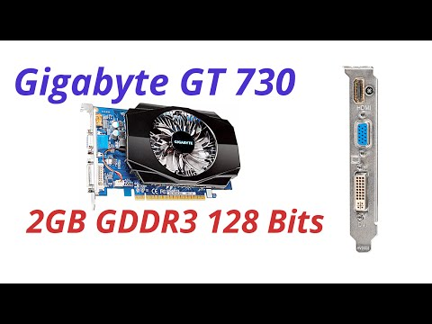 gigabyte gt 730 2gb gddr5 review