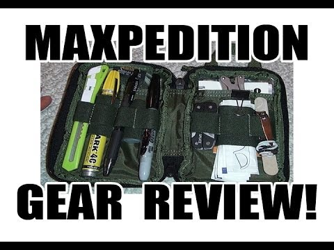 maxpedition edc pocket organizer review