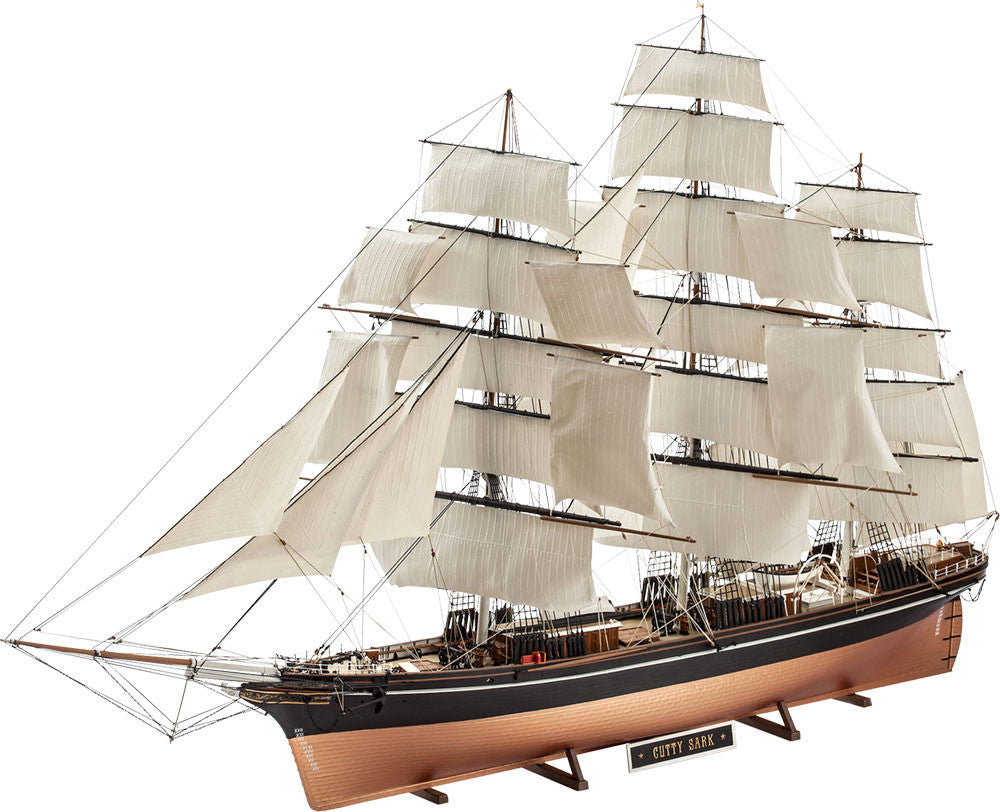 revell cutty sark 1 96 review
