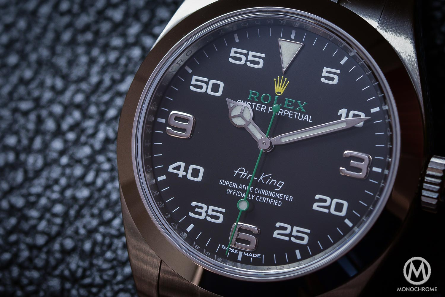 rolex air king 2016 review