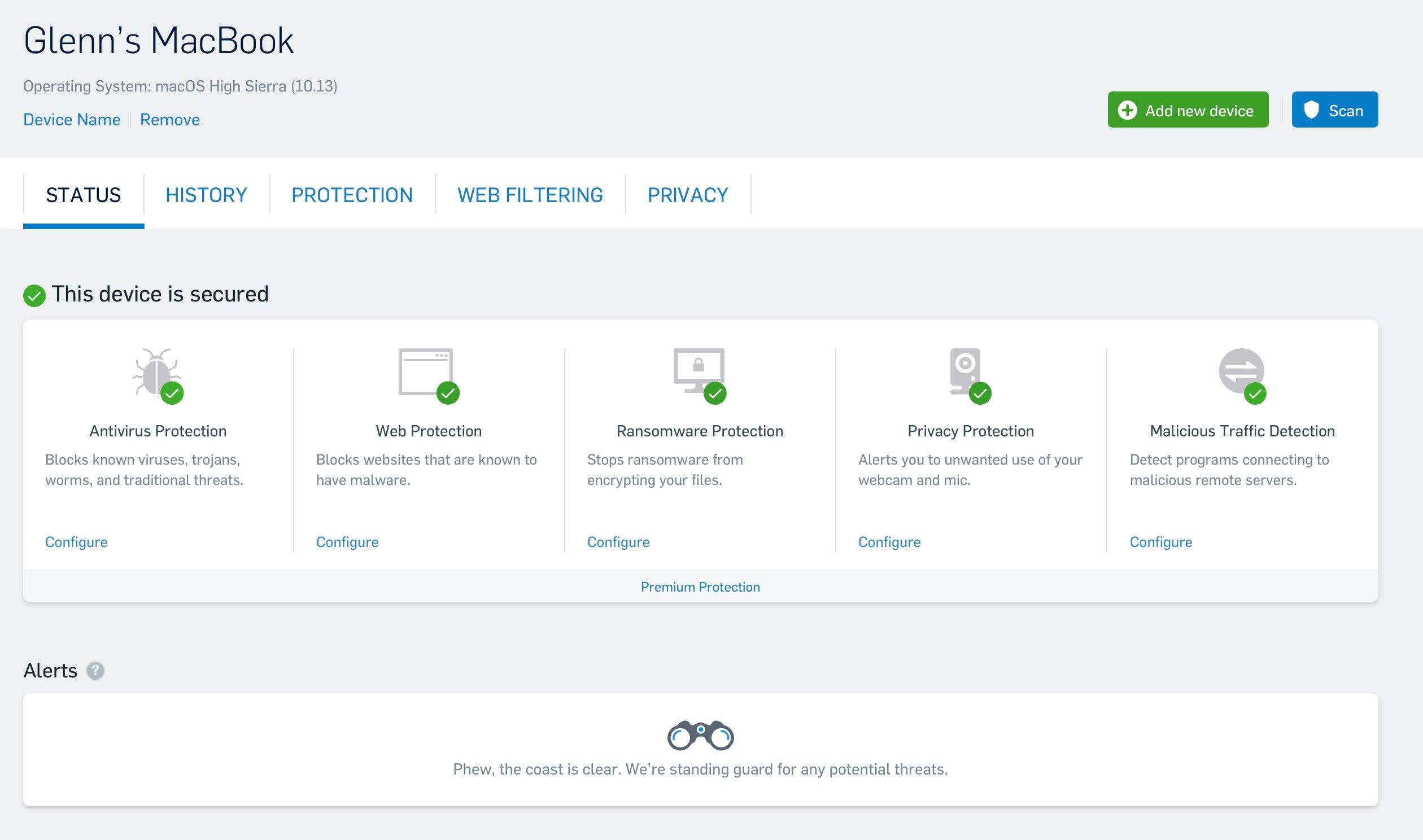 sophos free antivirus for mac review